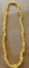Antique Natural  butterscotch Baltic Amber Beads Necklace  #17s