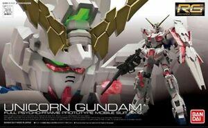 BANDAI RG 1/144 Gundam Plastic Model Kit Unicorn Gundam AU STOCK #25