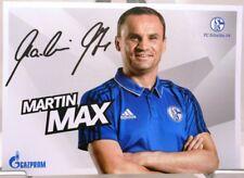 Martin Max + Autogrammkarte 2017/2018 + FC Schalke 04 + AK201873 +