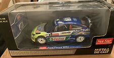 Sun Star Modern Rally Collectibles Ford Focus WRC Gronholm 1:18 Scale Model New
