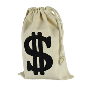 Large Dollar Sign Party Favor Money Goody Bag