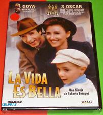 LA VIDA ES BELLA / La vita è bella -DVD R2- italiano Español -Precintada