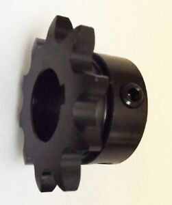 """40B10H-3/4"""" Bore 10 Hardened Tooth B Type Sprocket for 40 Roller Chain"""