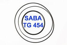 SET CINGHIE SABA TG 454 REGISTRATORE A BOBINE BOBINA EXTRA FORTI FRESCHE TG454