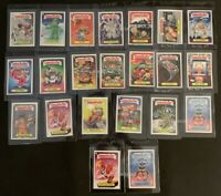 TOPPS 2019 WAS THE WORST GARBAGE PAIL KIDS COMPLETE SET (22 CARDS)