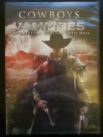 Cowboys VS Vampires RARE OOP DVD WITH CASE & COVER ARTWORK BUY 2 GET 1 FREE