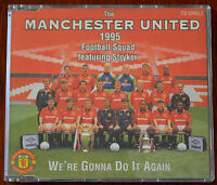 Manchester United Football Team – We're Gonna Do It Again CD – MANU 952 – Mint