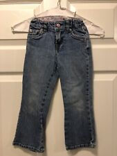 Levi's Girls Light Wash Denim Bootcut- Size 4T- Vguc