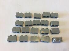 20 Lego light bluish gray 1x2  Bricks NEW