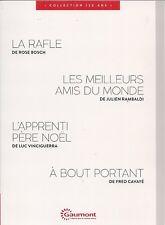 """DVD """"La rafle,Les meilleurs amis du monde,L apprenti Pere Noel,A bout portant"""""""