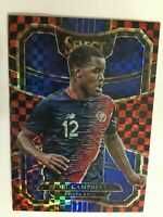 JOEL CAMPBELL 2017 18 PANINI SELECT PRIZM REFRACTOR TERRACE RED CHECKERBOARD
