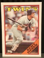 1988 Topps Kent Hrbek baseball card Minnesota Twins NrMt-Mint #45 MLB Legend