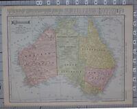 1906 Australia Queensland Victoria Neu South Wales Malbourne Sydney Adelaide