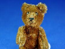 Schuco Miniature Teddy Ours/miniature teddy bear, marron/Brown, 1955-1969, 9 cm