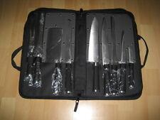 9 tlg. Messer Set der Marke S.M.G + Tragetasche NEU