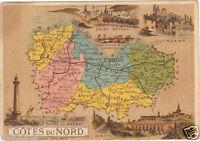 Ancienne Image du type Bon Point : Les Côtes du Nord