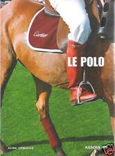 Livre : Le Polo - Aline Coquelle - Ed. Assouline - Résumé Dedans