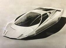 Superbe Lot Photos De Presse 1977 MERCEDES BENZ Concept Car