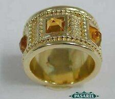 Beautiful 14k Yellow Gold Citrine Designer Ring Size 8