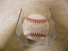 Luis Tiant OML Allen Selig Autograph Baseball