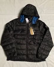 NEW Abercrombie by Hollister Men A&F REMOVABLE HOOD PACKABLE PUFFER, Medium