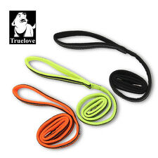 Truelove Reflective Soft Dog Lead padded light strong high viz small to large