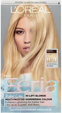 L'Oreal Paris Feria Hi-Lift Blonde Color, Ultra Pearl Blonde [11.21] 1 ea
