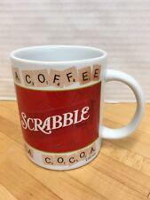 Scrabble Coffee Mug Cup 2002 Hasboro Coffee Tea Cocoa