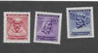 MNH Stamp complete set / Winter Relief / 1943 Issues / Third Reich / MNH BaM