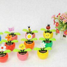 Solar Power Flip Flap Flower Swing Dancing Flower Toy Decor Sell H7A5 Car N1D5