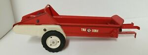 Vintage Carter Tru-Scale Short Lever Manure Spreader 1/16 VGC PRESSED STEEL