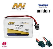 CTB102 Battery for Uniden DCT750/756/7565/758/7585 DCX700/750/756 WXI377 TCX930