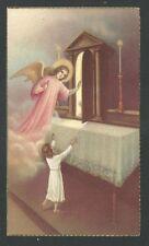 image pieuse antigua del Angel Custodio holy card santino estampa