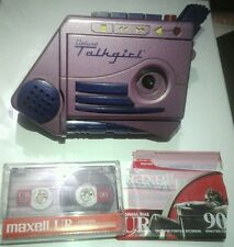 Vintage (1992)Tiger Deluxe Talkgirl Voice Tape Recorder Home Alone & Maxell Tape