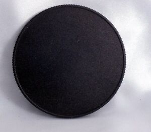 62mm Screw-in Metal Lens Front cap or Filter stack cap w/ male threads 6223060