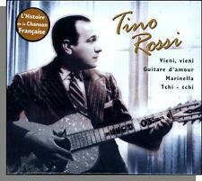Tino Rossi - L'Histoire de la Chanson Francaise - New 2000, 14 French Song CD!