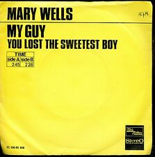 7inch MARY WELLS my guy HOLLAND YELLOW COVER NM / WOC (S0120)