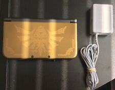 Nintendo New 3DS XL Hyrule Edition Gold Handheld System