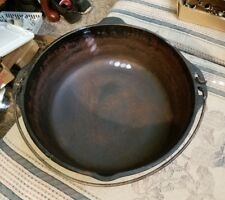 Antique cast iron kettle 12 Made in USA