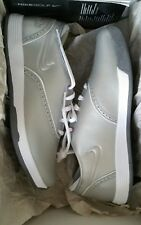 Nike Womens Lunar Duet Classic Silver GOLF SHOE UK 4 EUR 37.5 Brand New Freepost