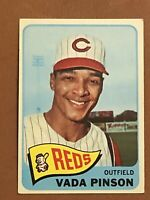 1965 Topps Vada Pinson Card #355 NM Reds