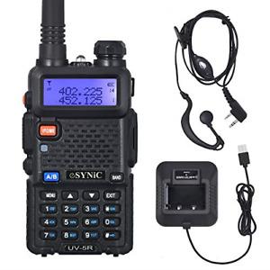 Walkie Talkie Handheld Radio Scanner Police Fire Transceiver Portable Antenna UK