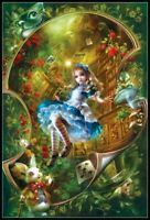 Alice in Wonderland - DIY Chart Counted Cross Stitch Patterns DIY Needlework