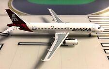 Mexicana Airbus A320-231 XA-RYQ Pink tail 1/400 scale diecast Aeroclassics