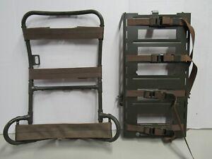 Vietnam US Lightweight Rucksack Frame w/ Metal Radio Packboard NO SHOULDER STRAP
