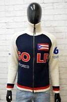 Cardigan Uomo Best Company Taglia S Maglione Pullover Lana Pull Sweater Felpa