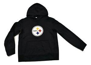 NFL Team Apparel Little Boys Pittsburgh Steelers Football Hoodie Look M(5-6)