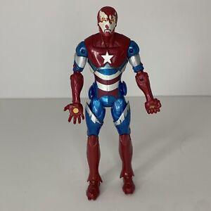 Iron Patriot Figure Marvel Legends Comic Iron Monger BAF wave 2012 Hasbro