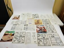 tandy Leather Company Miscellaneous Booklets Craftsman Photocarve Patterns