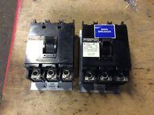 2-Square-D 100amp breakers, #Q2L320000153, 3-pole, 240vac, 30 day warranty